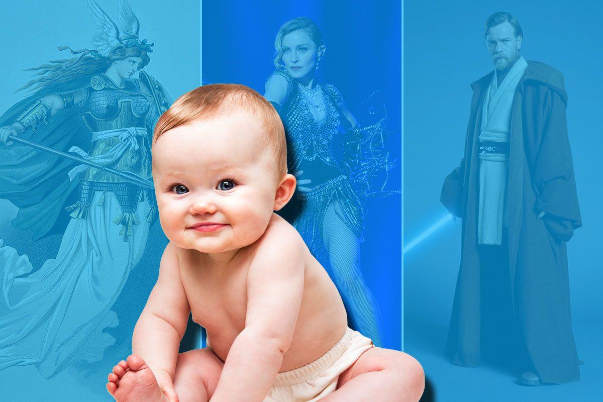 Weirdest baby names of 2015 included Valkyrie, Madonna, Quest and D'Artagnan