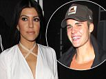 Is Kourtney Kardashian secretly hooking up with Justin Bieber?