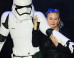 'Star Wars: The Force Awakens' Star Carrie Fisher Poses With Stormtroopers (And Her Dog, Gary, Obv) At UK Premiere (PICS)