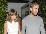 Taylor Swift and Calvin Harris 'are not living together' says pop star's rep
