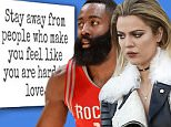 Khloe Kardashian posts note after James Harden is seen at strip club