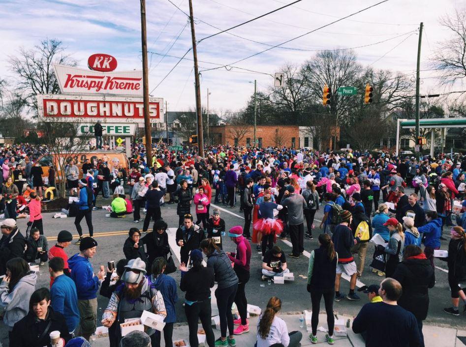 Man dies during Krispy Kreme challenge
