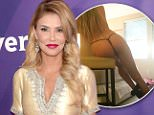 Brandi Glanville reveals she shared photo after ex-boyfriend 'blackmailed' her