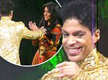 Video shows Prince throw Kim Kardashian off stage during New York concert in 2011