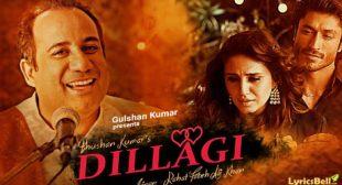 Tumhe Dillagi – Rahat Fateh Ali Khan