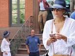 Bethenny Frankel appears to be house hunting in NYC with Dennis Shields