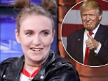 Lena Dunham comments on Donald Trump calling her 'a B-list actor with no mojo'