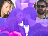 Tobey Maguire recently seen at 1 OAK night club with Sofia Richie