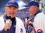 Bill Murray impersonates Daffy Duck as he sings Take Me Out To The Ball Game