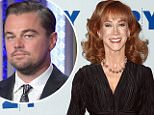 Leonardo DiCaprio admits 'I'm a douchebag' when Kathy Griffin said he ignored her