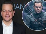 Matt Damon 'may have been exposed to toxic fumes when filming Great Wall in China'