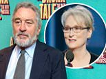Robert De Niro pens letter of support to Meryl Streep after her Golden Globes speech