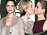 Amanda Peet describes  relationship with BFF Sarah Paulson as 'intense and visceral' after THAT Golden Globes red carpet kiss