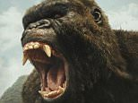 Kong: Skull Island tops weekend box office with $61m haul