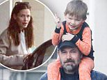 Ben Affleck pictured with son and Jen Garner after rehab