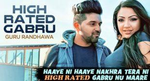 High Rated Gabru Lyrics – Guru Randhawa