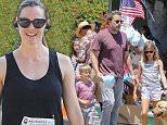 Jennifer Garner and Ben Affleck spend July 4 with the kids