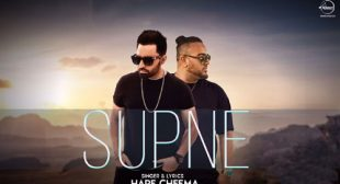 Supne Song by Harf Cheema