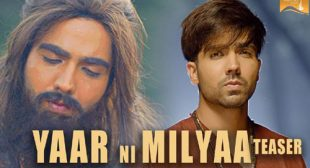 Yaar Ni Milya Song by Jaani