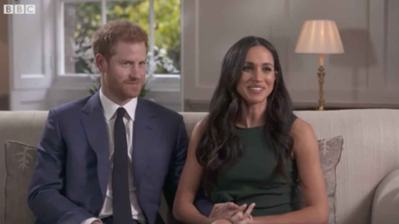 Prince Harry Reveals How Meghan Markle's Engagement Ring Is A Tribute To Princess Diana