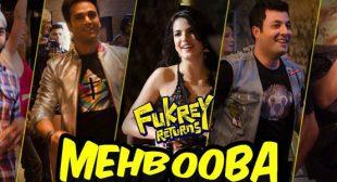 Mehbooba – Fukrey Returns