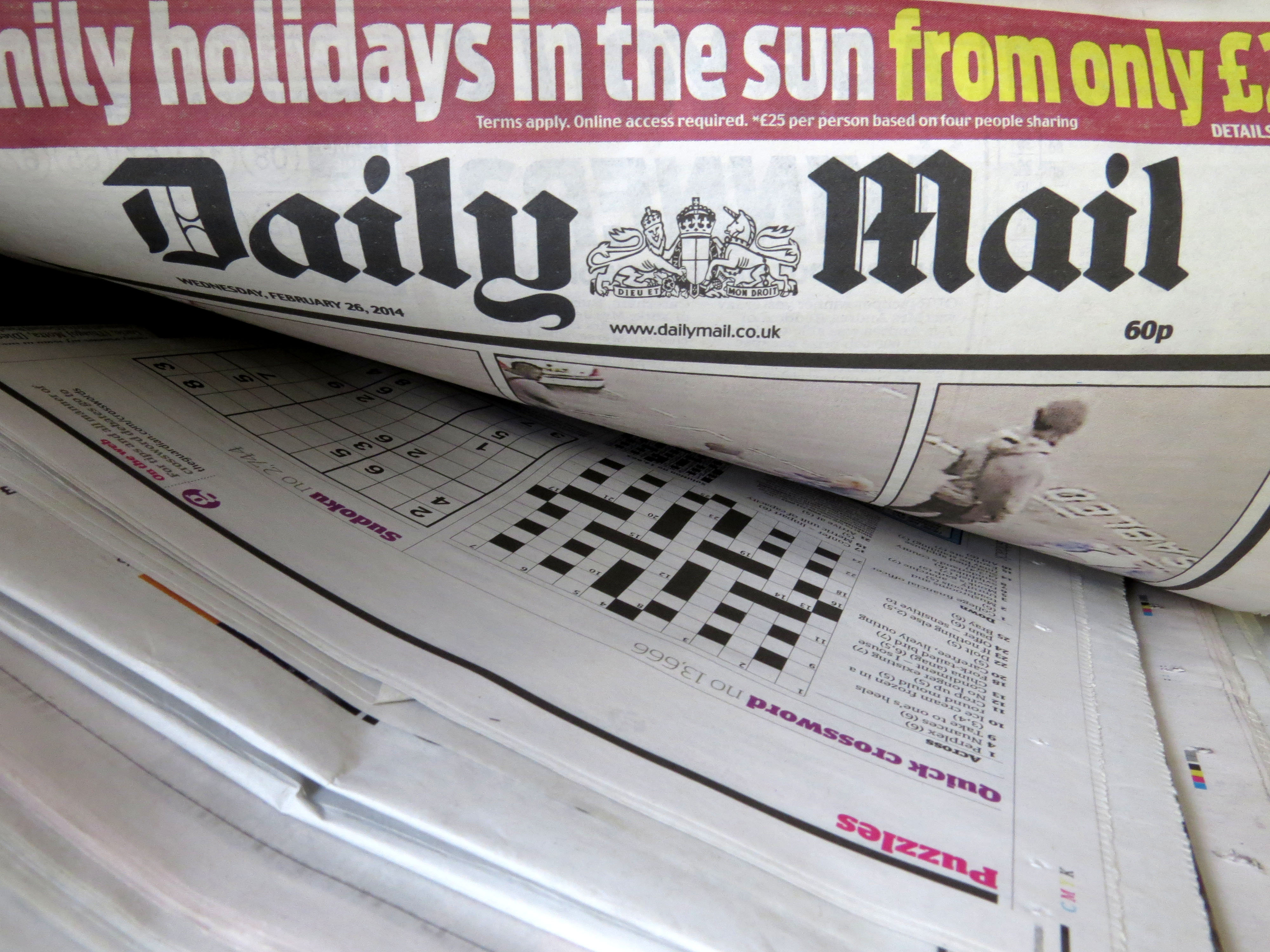 Virgin Trains Will No Longer Stock Daily Mail On West Coast Route