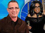 Tom Hanks jokes about Oprah's Golden Globes speech