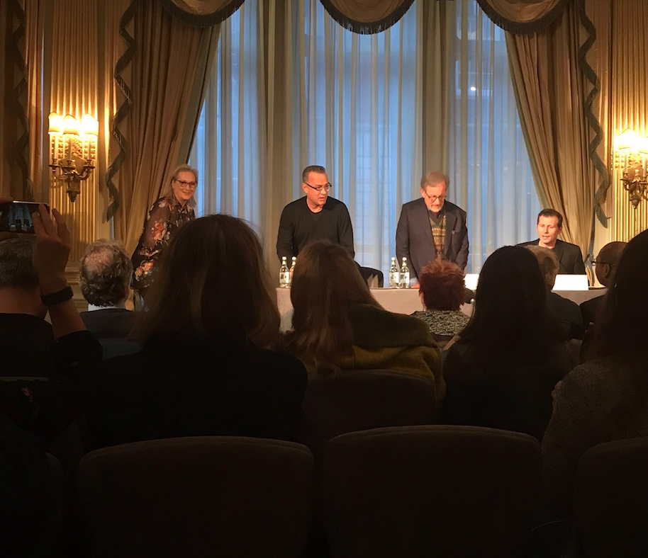 12 Thoughts That Went Through My Head During 'The Post' Press Conference