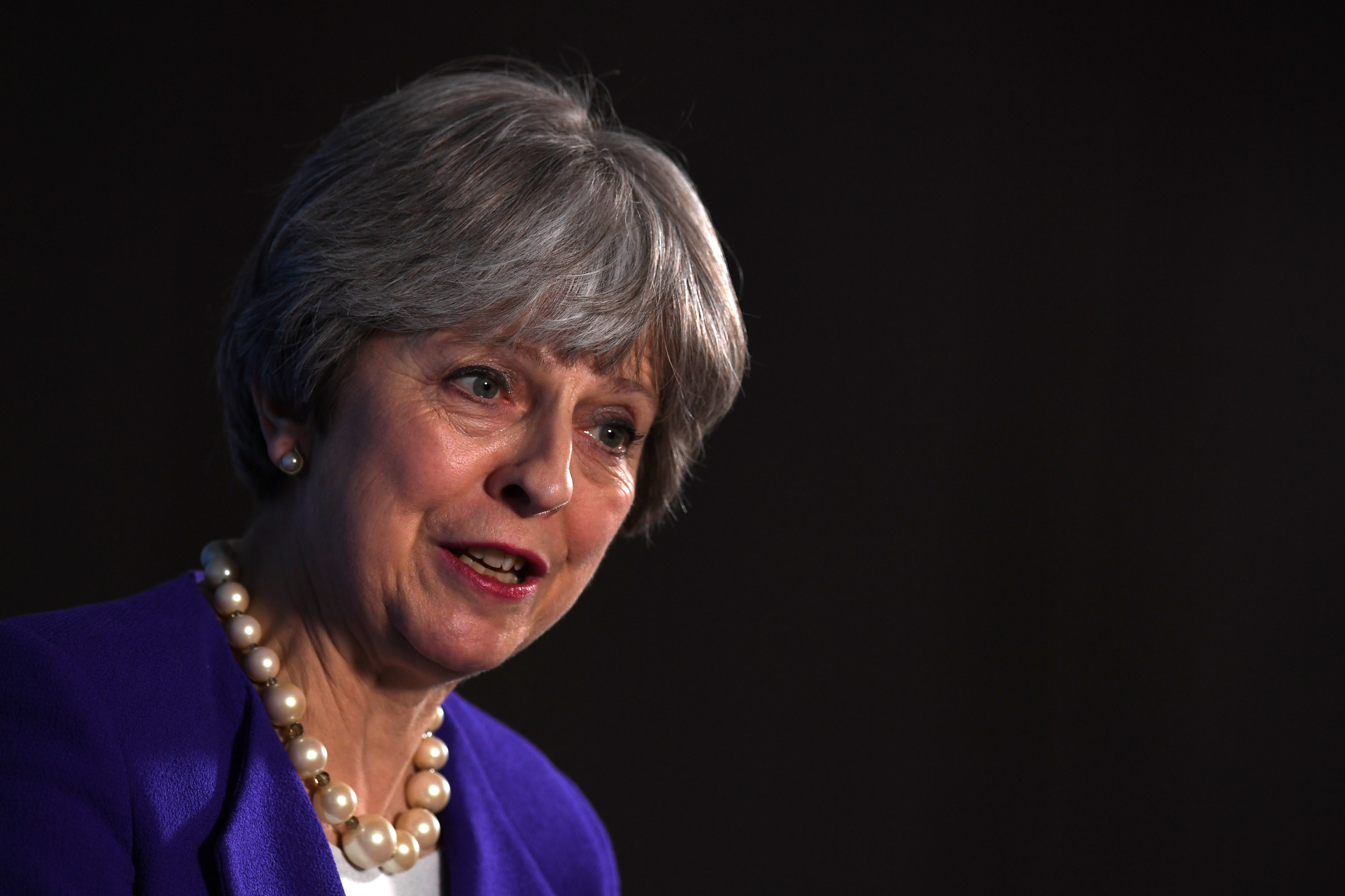 Theresa May Promises To 'Defeat Socialism' And Jeremy Corbyn's 'Populist Politics'