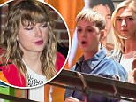 Taylor Swift's friend Karlie Kloss seen with Katy Perry
