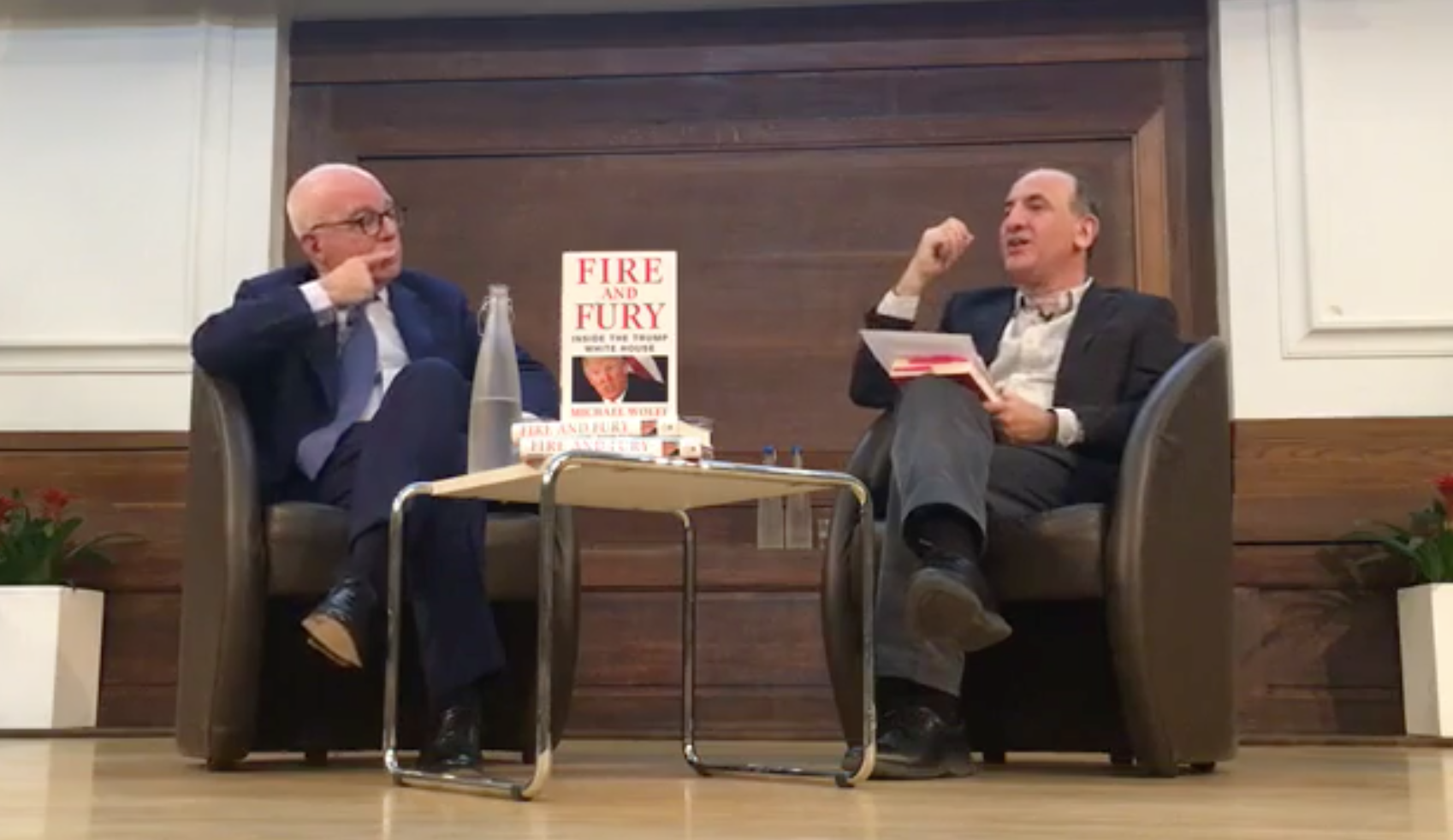 18 Insights Into Donald Trump's World From Armando Iannucci's Interview With Michael Wolff
