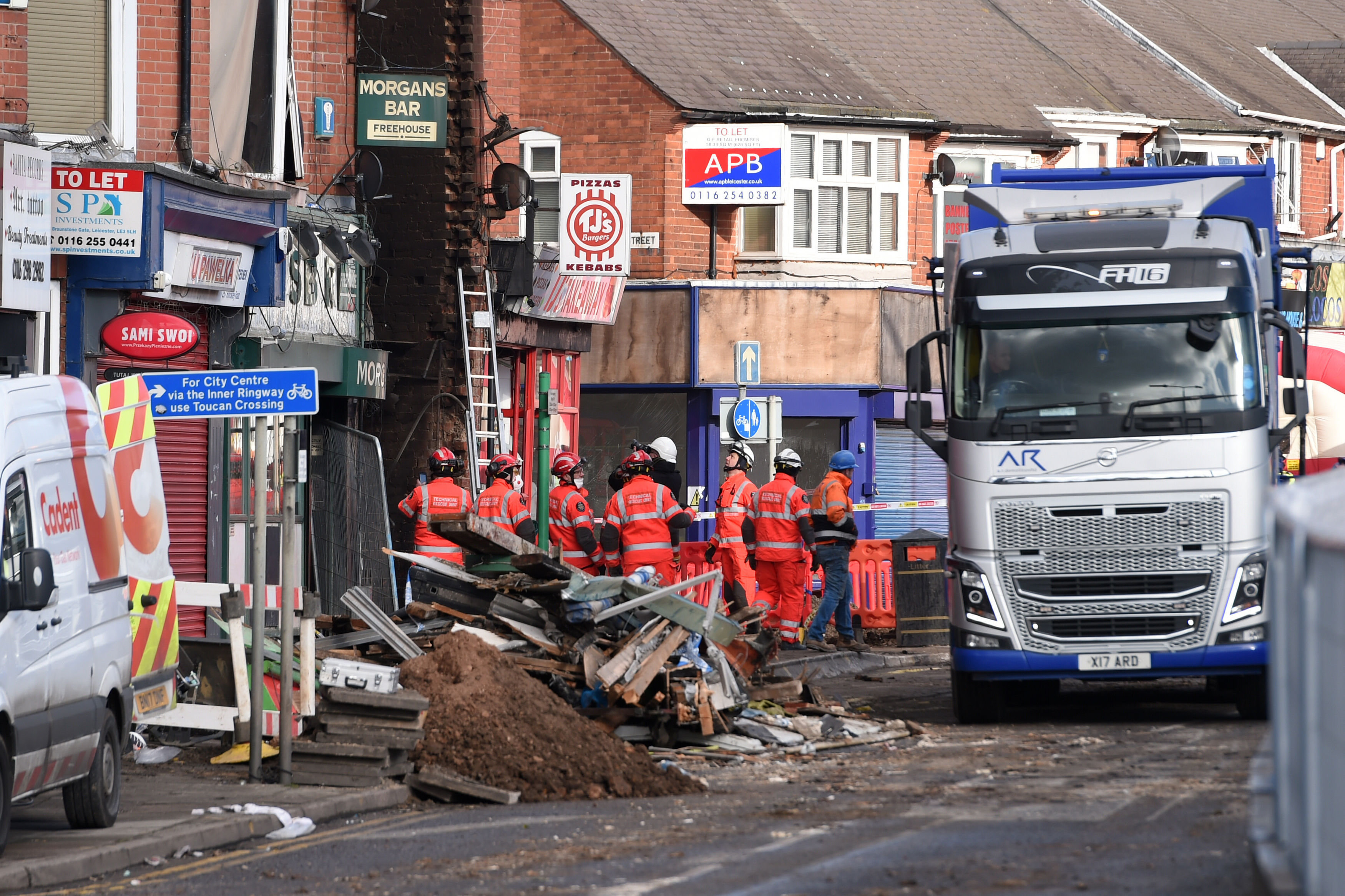 Leicester Explosion: 5 Missing Named By Police