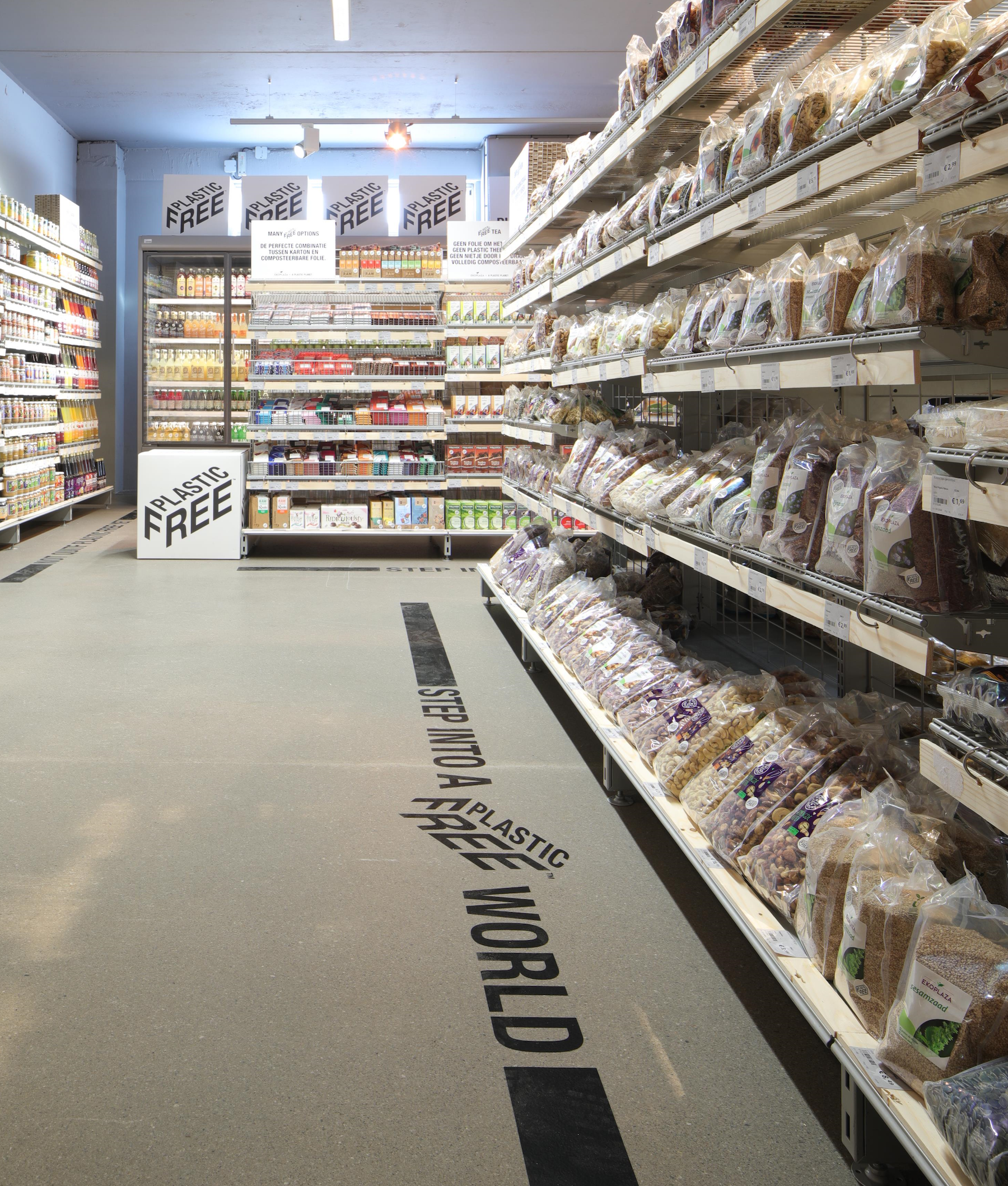 World's First Plastic-Free Aisle Arrives In Amsterdam Supermarket