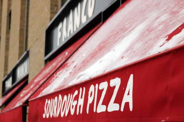 Franco Manca Delivers Thousands Of Free Pizzas To Rough Sleepers As UK Temperatures Plummet
