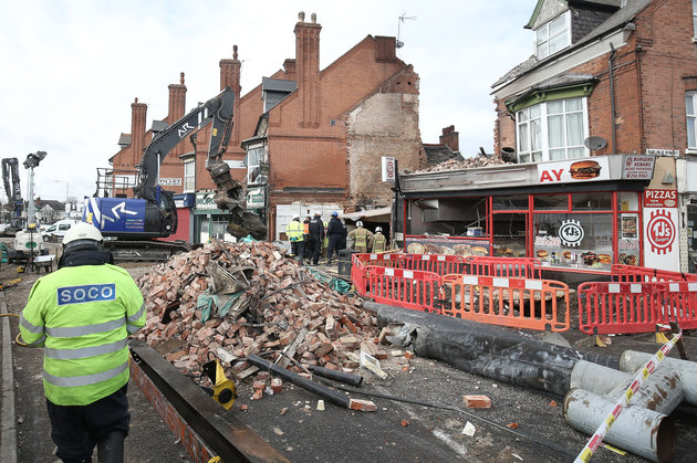 Leicester Explosion Sees Three Men Charged With Manslaughter And Arson