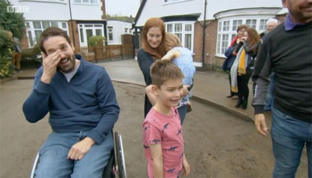 'DIY SOS' Viewers In Tears As Makeover Show Rebuilds Home Of Policeman Left In Wheelchair After Westminster Attack