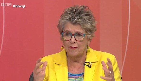 Prue Leith Branded 'Heartless' Over Controversial Housing Debate On 'Question Time'