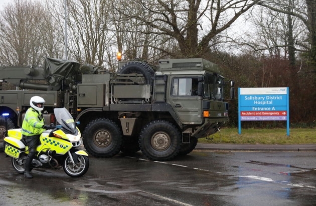 Sergei Skripal Probe: Salisbury Locals In Shock After Huge Military Convoy Arrives To Aid Investigation