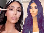 Kim Kardashian appears pale in KKW Beauty makeup tutorial