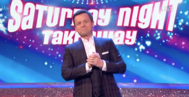 Declan Donnelly Makes Light Of Ant McPartlin's Absence During Solo 'Saturday Night Takeaway'