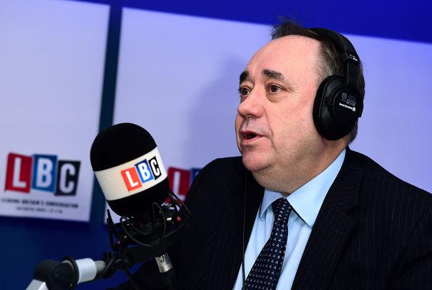 Alex Salmond's LBC Show Ends – But He Continues To Host RT Slot Despite Criticism