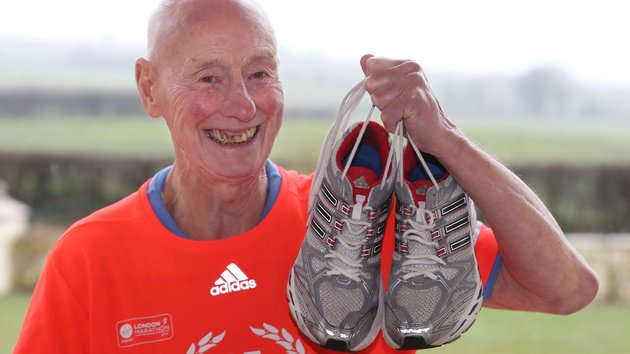 This 85-Year-Old Has Run Every London Marathon – And He's Not Stopping Now