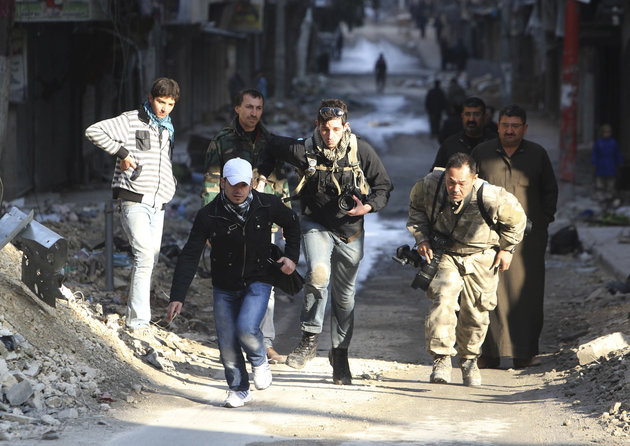 UK Academics To Discuss If Reporters In Syria Are Breaking Terrorism Laws