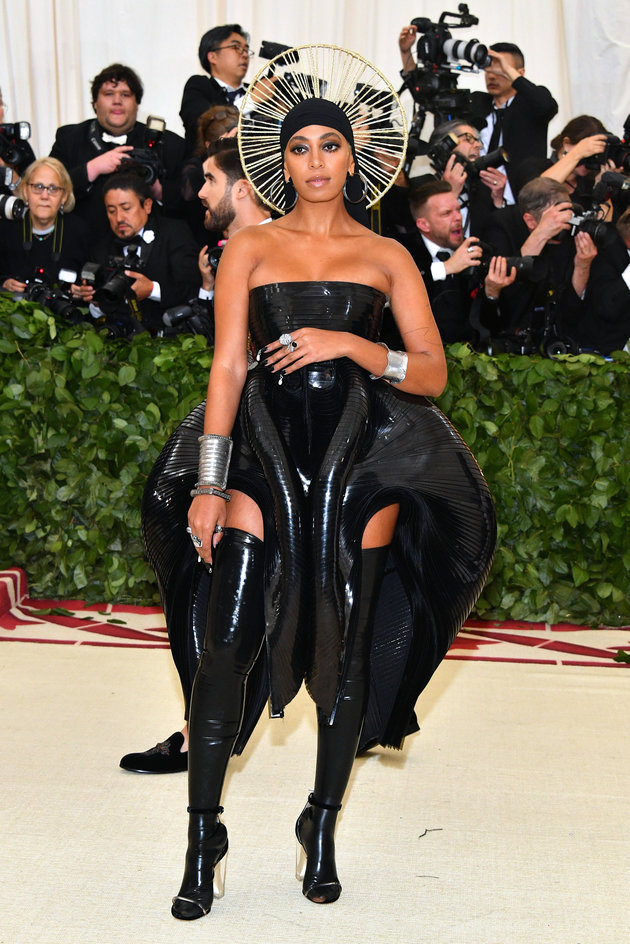 Met Gala 2018: Solange Knowles' Durag And Halo Combo Had Everyone Talking
