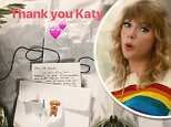 Taylor Swift posts APOLOGY letter from Katy Perry where the Roar singer says she's 'deeply sorry'