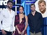 Halsey and The Chainsmokers pay tribute to Avicii at the Billboard Music Awards in Las Vegas