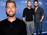 Lance Bass EXCLUSIVE: Singer talks picking donor on a 'Tinder for eggs' site at DailyMail.com party