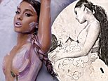 Ariana Grande writhes naked in paint in sensual video for God Is A Woman… and hints at pregnancy