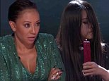 America's Got Talent: Mel B runs away screaming from The Sacred Riana