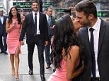 Bachelorette Becca Kufrin packs on the PDA with fiance Garrett Yrigoyen after show finale